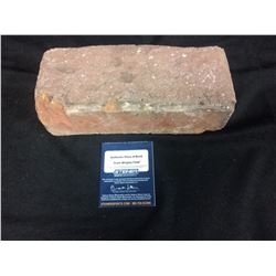 AUTHENTIC PIECE OF BRICK FROM WRIGLEY FIELD (STEINER COA)