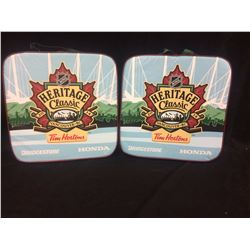 2014 NHL HERITAGE CLASSIC SEAT CUSHIONS LOT (VANCOUVER BC)