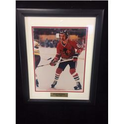 STAN MIKITA FRAMED PHOTO (HOF 1983)