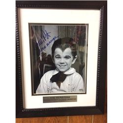 "BUTCH PATRICK AUTOGRAPHED 10"" X 12"" FRAMED PHOTO (THE MUNSTERS)"