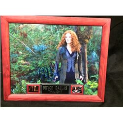 "BRYCE DALLAS AUTOGRAPHED 8"" X 10""  FRAMED PHOTO ""TWILIGHT"""
