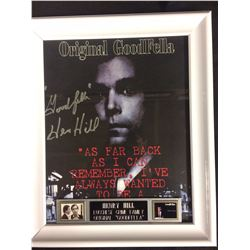 "HENRY HILL AUTOGRAPHED 8"" X 10"" FRAMED ORIGINAL GOODFELLA"