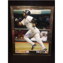 GARY SHEFFIELD AUTOGRAPHED FRAMED PHOTO (STEINER COA)