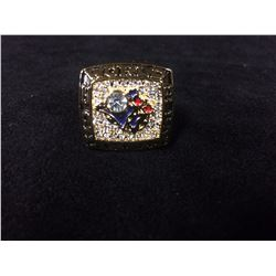 TORONTO BLUE JAYS REPLICA WORLD SERIES RING (JOE CARTER 1993)