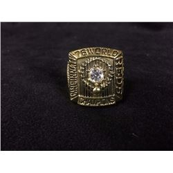 CINCINNATI REDS REPLICA WORLD SERIES RING (JOHNNY BENCH 1975)