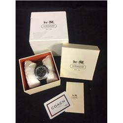 AUTHENTIC COACH LEATHERWARE WRIST WATCH (BRAND NEW W/ BOX)