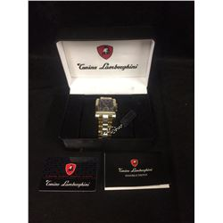 AUTHENTIC CONINO LAMBORGHINI WRIST WATCH (BRAND NEW IN BOX)
