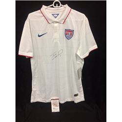 TIM HOWARD AUTOGRAPHED TEAM USA SOCCER (GOLF SHIRT) W/ JSA COA