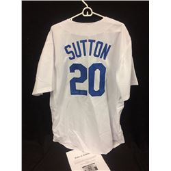 DON SUTTON AUTOGRAPHED DODGERS BASEBALL JERSEY W/ LOA