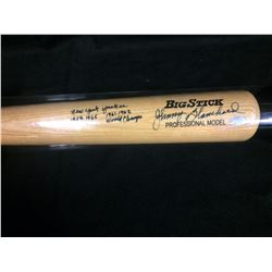 JOHNNY BLANCHARD AUTOGRAPHED BIG STICK BASEBALL BAT (YANKEES WORLD CHAMPS 1959-1965, 1961-62