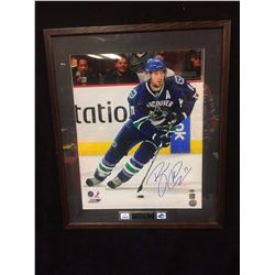 "RYAN KESLER AUTOGRAPHED 20"" X 24"" FRAMED PHOTO (GAMEDAY COA)"
