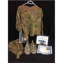 """2001 """"PLANET OF THE APES"""" MOVIE USED COSTUME W/ COA"""