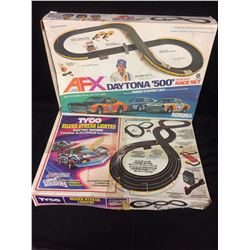 AFX & TYCO ELECTRIC RACING COURSE LOT (IN BOX)