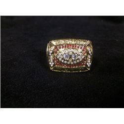 WASHINGTON REDSKINS REPLICA SUPERBOWL RING (DEXTER MANLEY 1987)