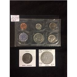1963 U.S.A .900 SILVER PROOF SET