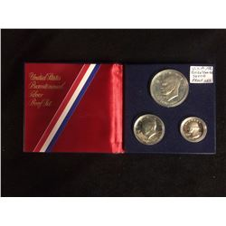 1976 U.S.A BI-CENTENNIAL SILVER PROOF SET