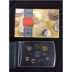 2000 ROYAL CANADIAN MINT SPECIMEN SET