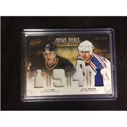 1994 PRIME DUALS HOCKEY CARD (PAVEL BURE, MARK MESSIER) 190/200
