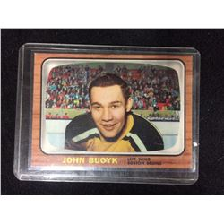 1966-67 TOPPS #39 JOHN BUCYK HOCKEY CARD