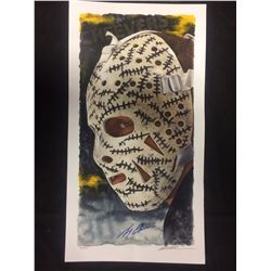 """LIMITED EDITION GERRY CHEEVERS AUTOGRAPHED 12"""" X 18"""" PRINT BY GLEN GREEN"""