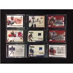 AUTOGRAPHED & GAME WORN JERSEY HOCKEY CARD LOT