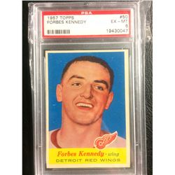 1957 TOPPS #50 FORBES KENNEDY (EX-MT 6) PSA