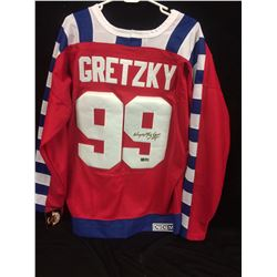 WAYNE GRETZKY AUTOGRAPHED ALL STAR JERSEY (75TH) W/ COA
