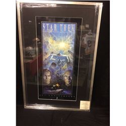 WILLIAM SHATNER & PATRICK STEWART AUTOGRAPHED 25TH ANNIVERSARY SIGNED PRINT (TOM JUNG)