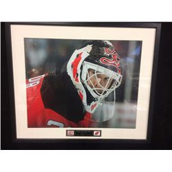 "RICHARD BRODEUR 8"" X 10"" MATTED PHOTO (NEW JERSEY DEVILS)"