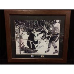 "GERRY CHEEVERS AUTOGRAPHED 30"" X 36"" FRAMED PHOTO (HOF 1985)"