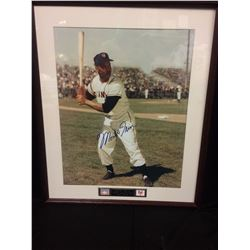 "MONTE IRVIN AUTOGRAPHED 8"" X 10"" MATTED PHOTO (GIANTS)"