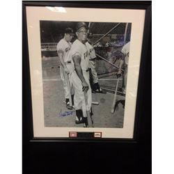 "WILLIE MAYS AUTOGRAPHED 8"" X 10"" MATTED PHOTO (GIANTS)"