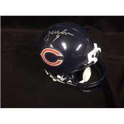 JIM McMAHON AUTOGRAPHED MINI FOOTBALL HELMET (CHICAGO BEARS) JSA COA