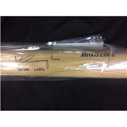 PETE INCAVIGLIA AUTOGRAPHED BASEBALL BAT W/ GT SPORTS COA