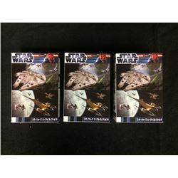 STAR WARS MODEL KITS LOT (IN BOX)