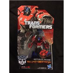 TARNSFORMERS OPTIMUS PRIME  (FALL OF CYBER TRON) IN BOX