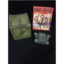 "BANDAI ""ONE PIECE"" ACTION FIGURE IN BOX TOY LOT"