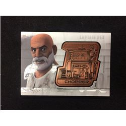 STAR WARS MASTERWORK DROID MEDALLION CARD (CAPTAIN REX) 070/150
