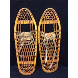VINTAGE WOODEN SNOW SHOES