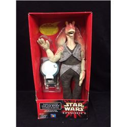 STAR WARS EPISODE 1 WAKE UP SYSTEM JAR JAR BINKS  (IN BOX)