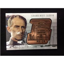 STAR WARS MASTERWORK DROID MEDALLION CARD (GRAND MOFF TARKIN) 015/150