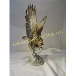 Hutschenreuther Porcelain Bird of Prey Sculpture