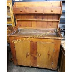 Antique Wooden Dry Sink
