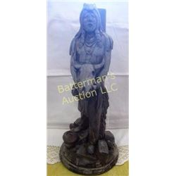 Native American Statue by Apsti Bros