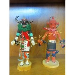 Set of Kachinas,  Hototo and Mud Head