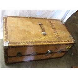 Vintage Steamer Wardrobe Trunk