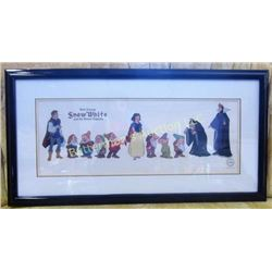Walt Disney Snow White and the Seven Dwarfs Cel