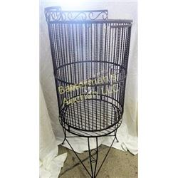 Antique Bird Cage Wrought Iron