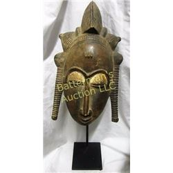 West  African Ceremonial Dance Mask