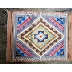 Navajo Diamond Tan Pinks Rug Vivian Werbery